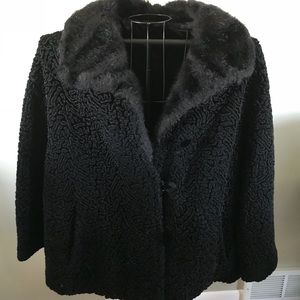 Womens Plus Size Vintage Winter Jacket